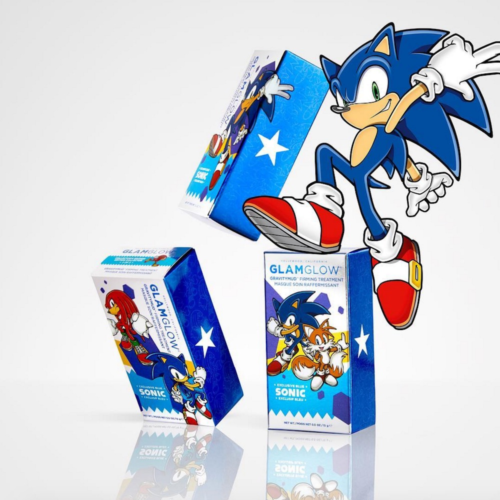 GlamGlow released three new designs for their Sonic the Hedgehog mask, and you're going to want to collect them all