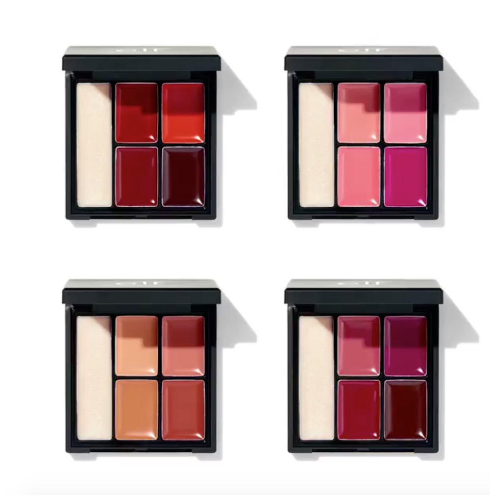 E.l.f. Cosmetics released *four* new palettes, and they will take your lips from matte to shimmer in no time