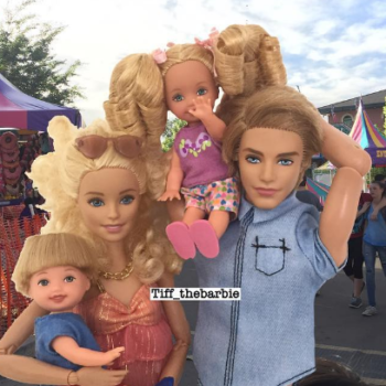 This LOL-worthy Instagram shows what Barbie would be like as a modern mom