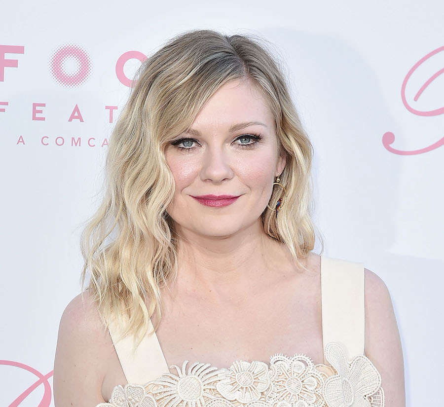 "Kirsten Dunst wore our ideal beach wedding dress at ""The Beguiled"" premiere"