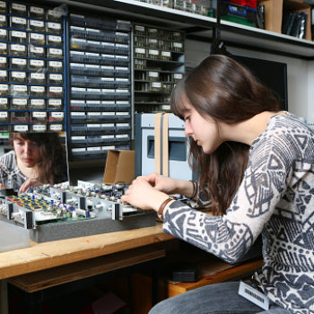 Female college students are less likely to drop out of STEM subjects if they receive mentorship from other women, because girl power is real