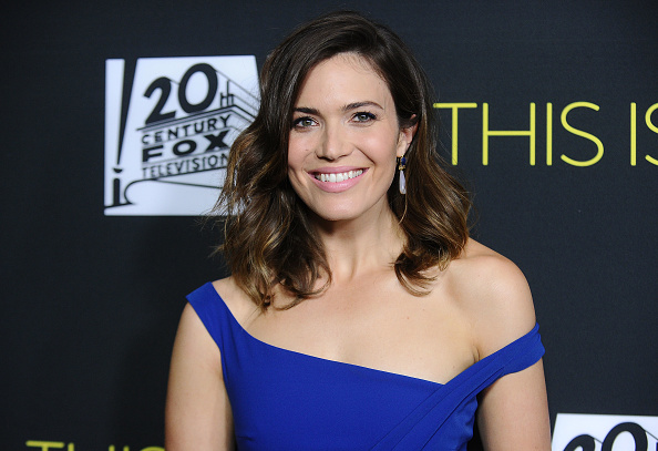 Here's where you can buy the slip dress Mandy Moore wore on the red carpet