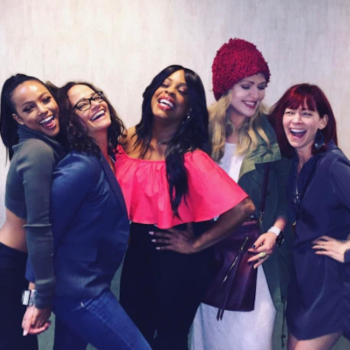 """The """"Claws"""" cast talks to us about why a show like this is important to women — especially now"""