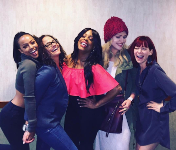 "The ""Claws"" cast talks to us about why a show like this is important to women — especially now"