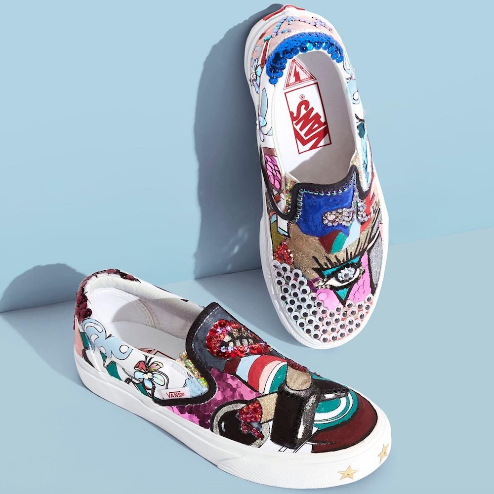 Marc Jacobs collaborated with Vans once again, and they really want you to scribble on their shoes