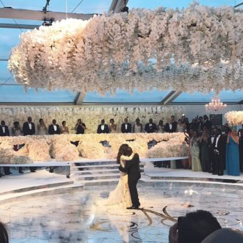 This wedding cost $6.3 million, and wait 'til you see the cake