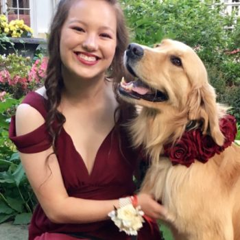 This girl brought her service dog to prom, and our hearts can't take it