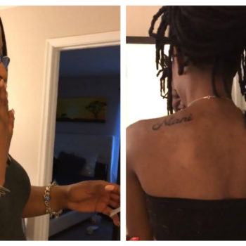 This woman got tattoos of her parents' names, and their reactions will totally make you melt