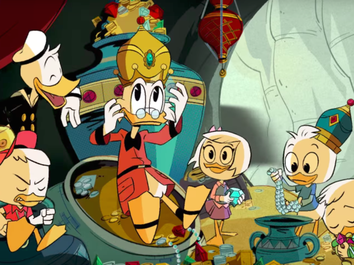 DUCKTALES' Main Title Sequence is All Kinds of Comic Booky