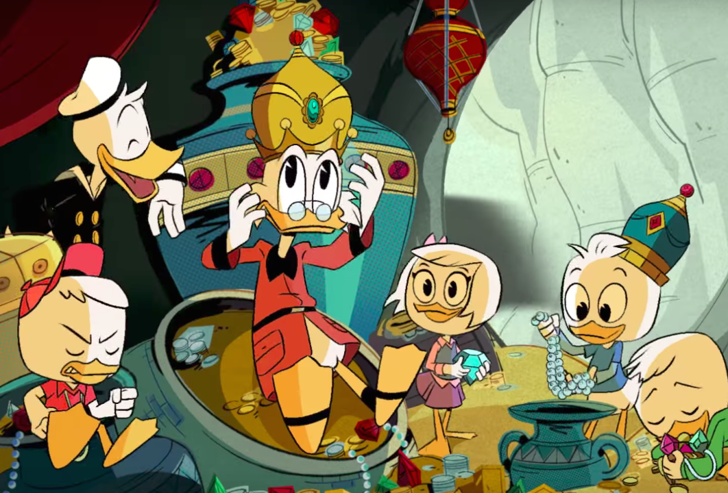 "The new ""DuckTales"" opening credits are here, and I can't stop crying because the nostalgia is TOO REAL"