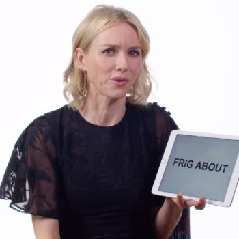 Naomi Watts teaches us Australian slang