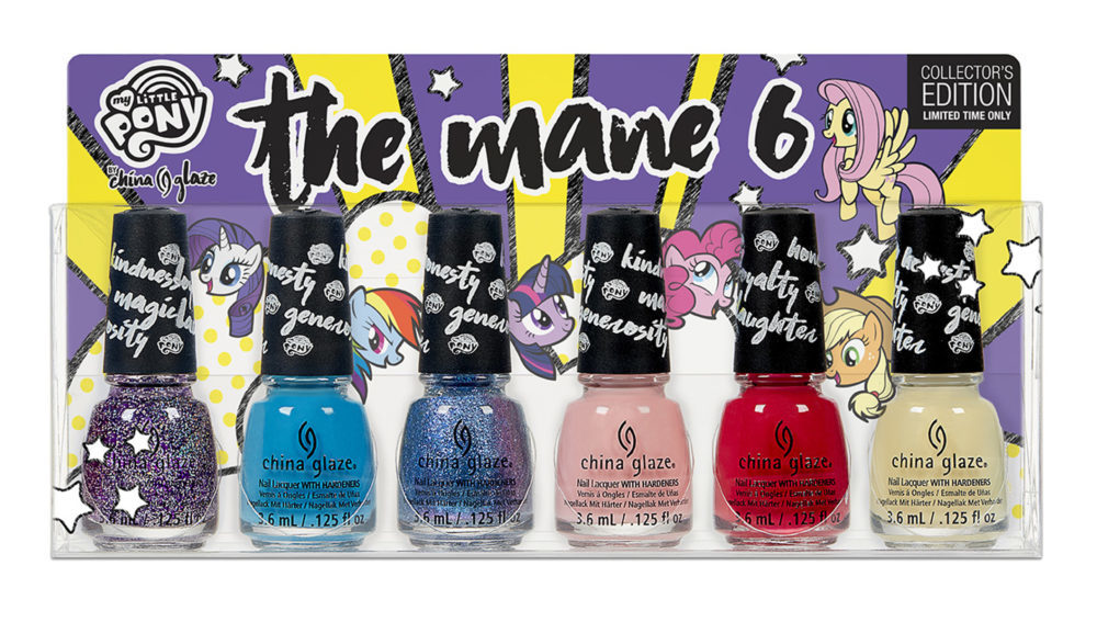 China Glaze and My Little Pony are collaborating an a magical nail polish collection