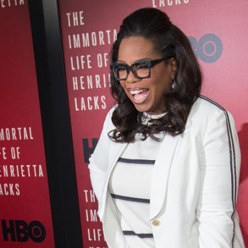 """Oprah hosted a """"Wonder Woman"""" party at her house, and we are living for it"""