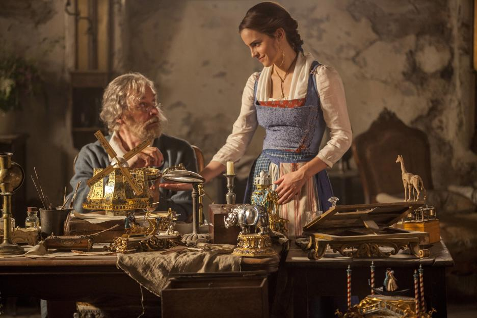 """The """"Beauty and the Beast"""" Honest Trailer pokes fun at how a film about inner beauty features really beautiful people"""