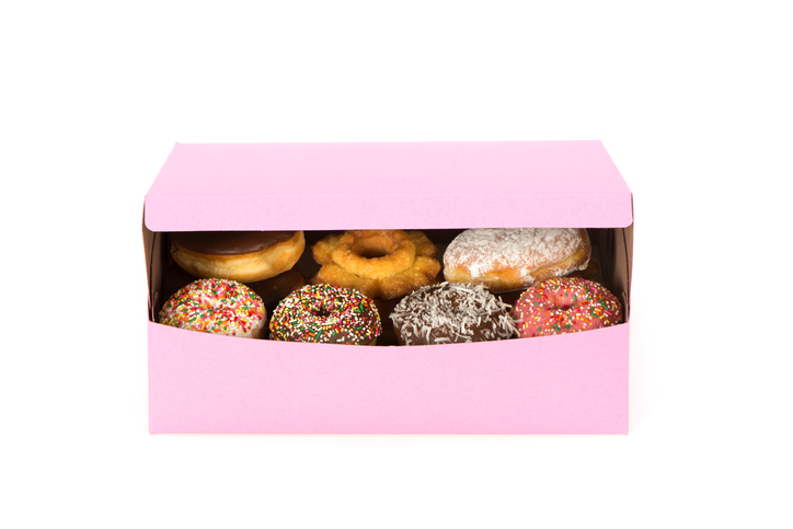 The origin of iconic pink doughnut boxes is probably not what you'd think