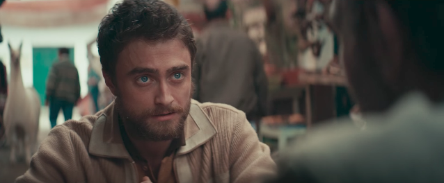 "Daniel Radcliffe is a longgggg way from Hogwarts in this ""Jungle"" trailer"