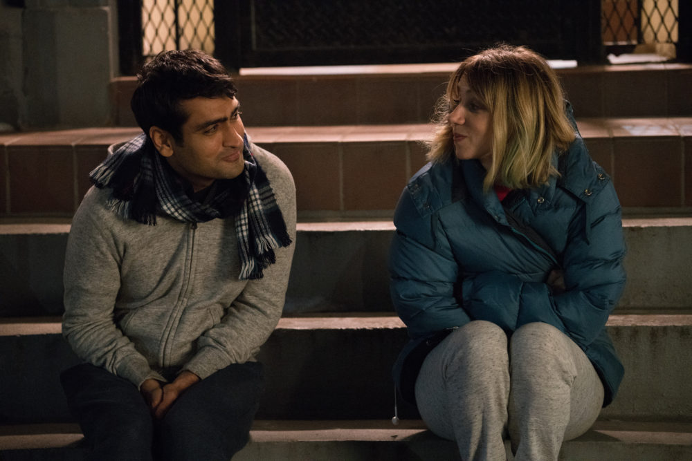 "Kumail Nanjiani likened his desire to tell his love story through ""The Big Sick"" to...crust on a ketchup bottle"