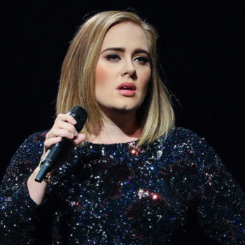 Adele made a visit to those affected by the London apartment tower fire