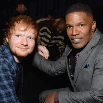 Jamie Foxx spoke about how he let Ed Sheeran stay on his sofa before the singer became famous
