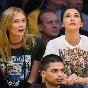 So *this* is where Kendall Jenner gets all those old band T-shirts
