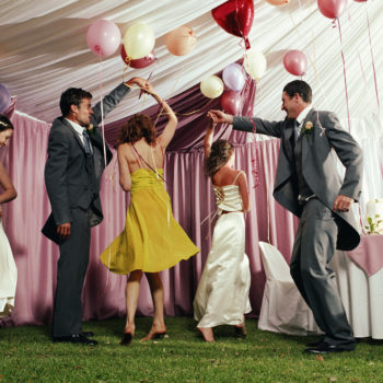 This is how many people actually hook up at weddings, because we know you were wondering