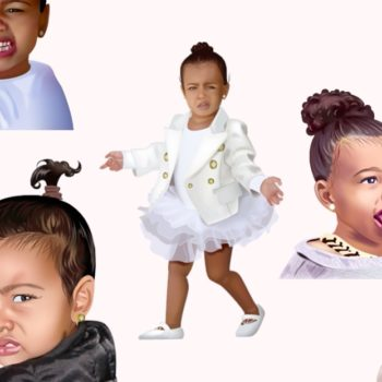 Kim Kardashian shared a series of videos for North West's birthday, and they are melting our hearts