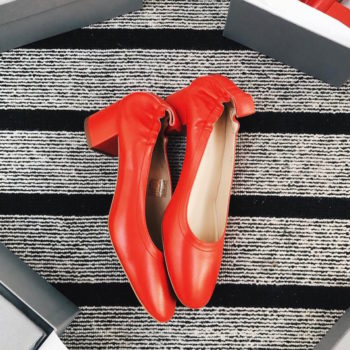 This ballet-inspired pair of heels has a waitlist of 28,000 people