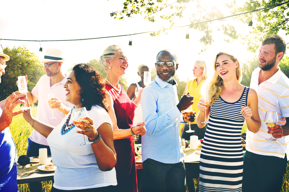 Research shows doing THIS at a party will make you more likable — whatever that means