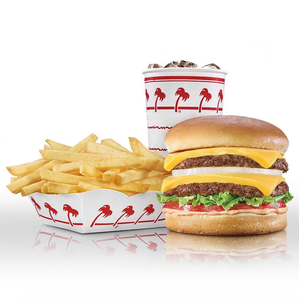 In-N-Out has a secret online store, and we're eyeing their red hot swimsuit