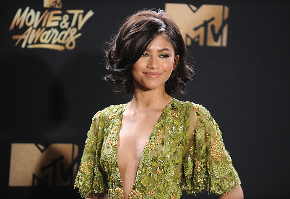 "Zendaya may be at a ""Spider-Man"" event, but she looks like a bumblebee"