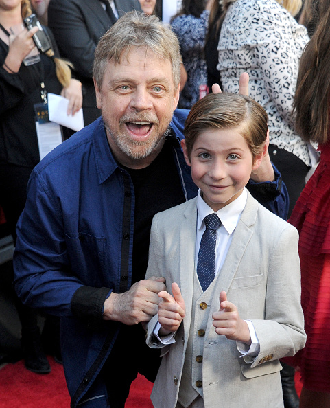 "Mark Hamill hung out with ""Star Wars"" superfan Jacob Tremblay and it was adorable"