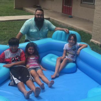 This man started buying pools for kids — after a local family was shamed for their makeshift one