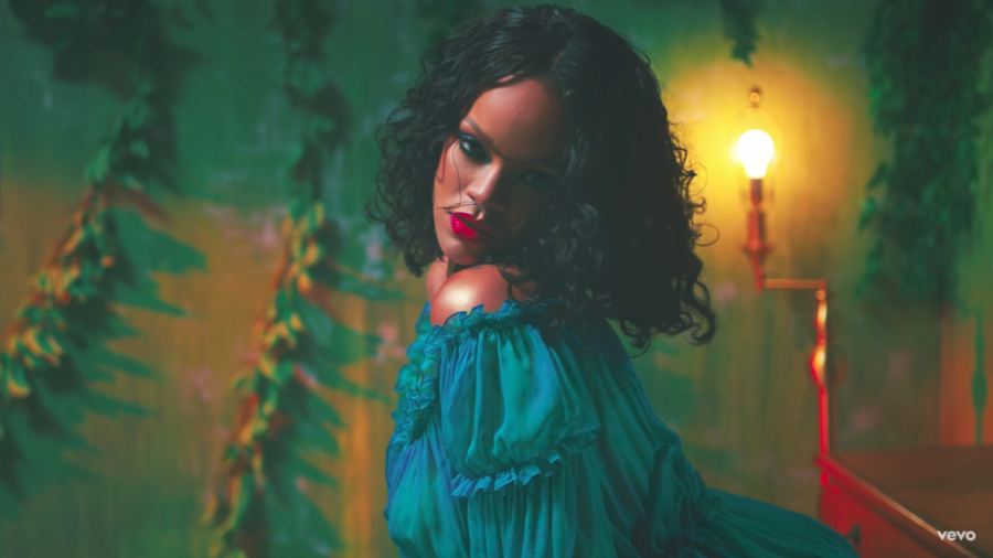 "Here's how you can affordably recreate Rihanna's psychedelic look from her new video, ""Wild Thoughts"""
