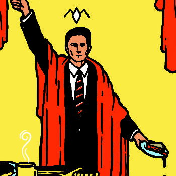 """Welcome to the """"Twin Peaks"""" tarot card deck"""