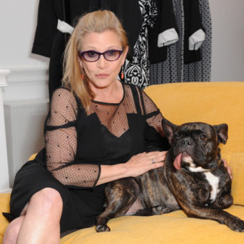 Take a peek inside the late Carrie Fisher's eccentric home before her decor goes to auction