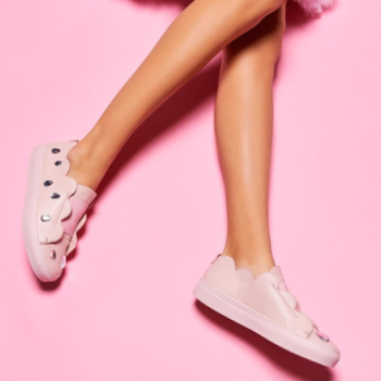 14 pairs of Millennial pink sneakers to up your style game