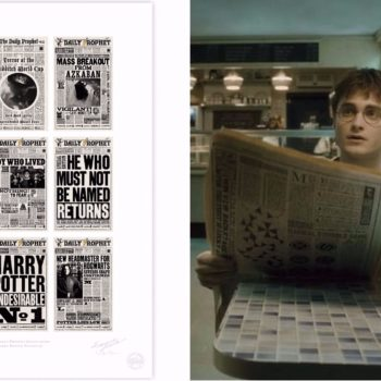 """You're going to want to hang these enchanting """"Harry Potter"""" prints all over your wall — but moving pictures, not included"""