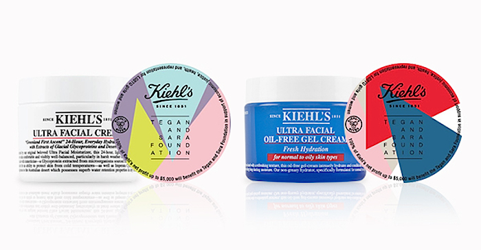 Kiehl's is doing even more for Pride by releasing new Ultra Facial Creams to support the Tegan and Sara Foundation
