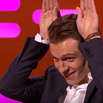 Tom Holland had to do an audition pretending to be a wolf