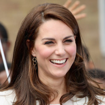 Duchess Kate Middleton and Princess Charlotte rocked millennial pink for this festive event