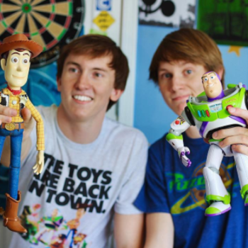 """These brothers recreated Andy's room from """"Toy Story,"""" and wow, we've never been more jealous of a bedroom"""