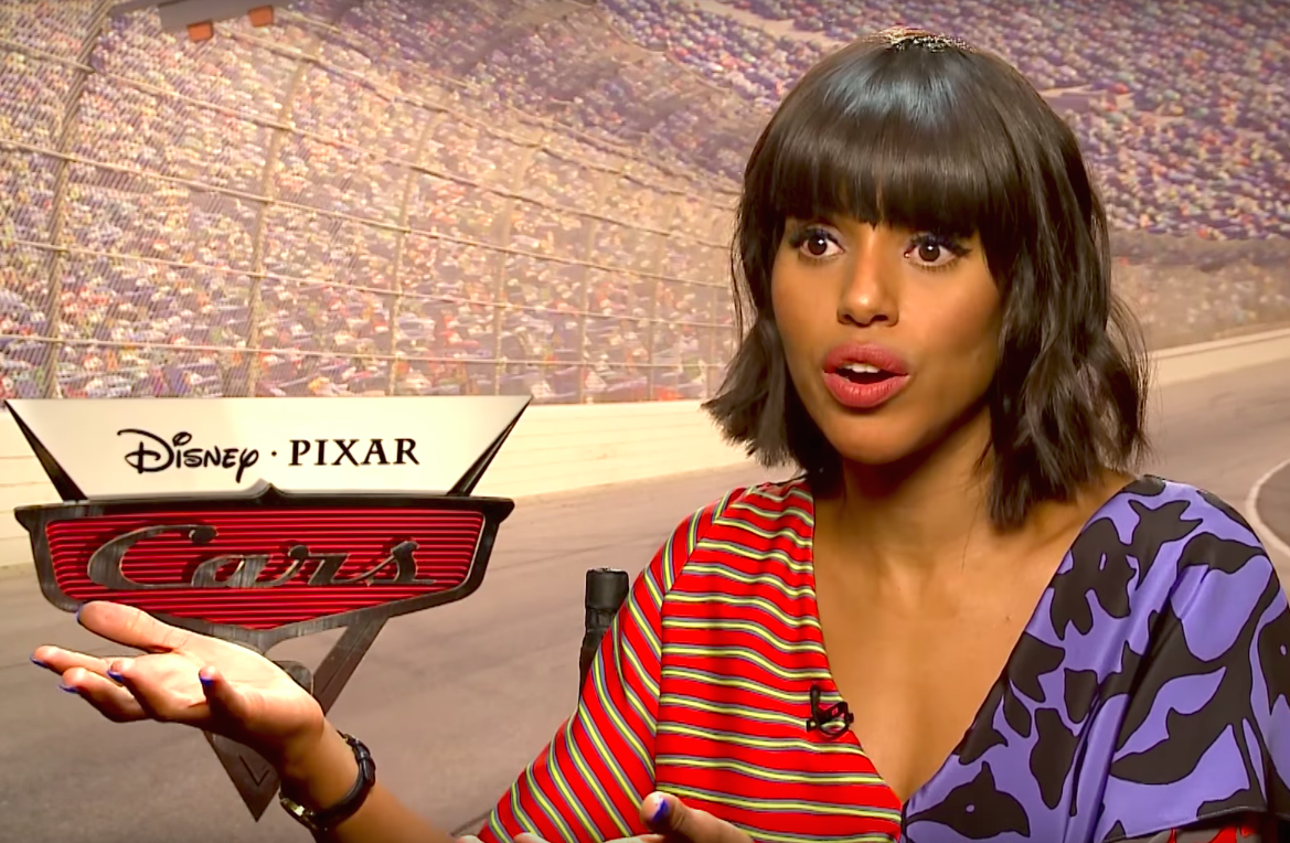 "Kerry Washington has a pretty good theory as to why ""Cars"" takes place in a world without humans"