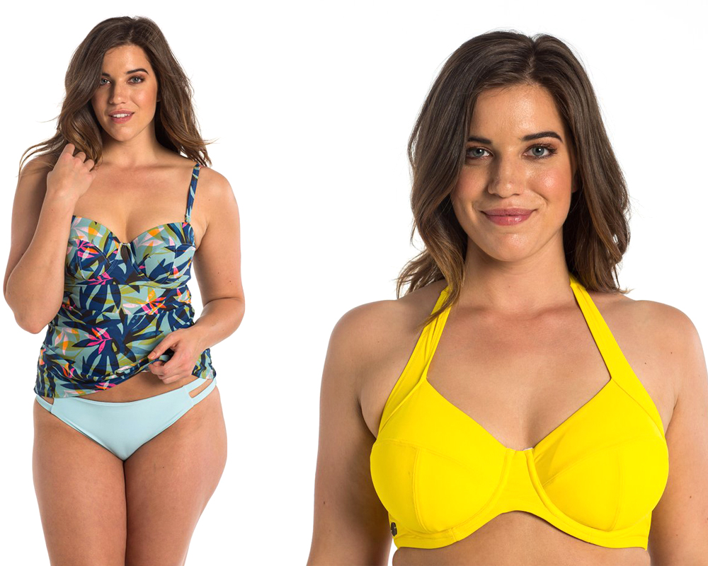 We're in love with this swimsuit line exclusively for busty gals