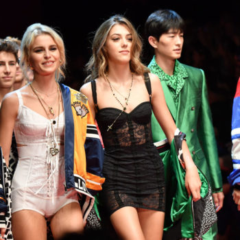 Dolce & Gabbana just hosted the most #Millennial fashion show we've ever seen