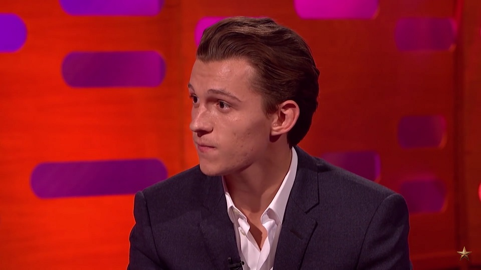Tom Holland got some important Hollywood advice from Mark Wahwlberg