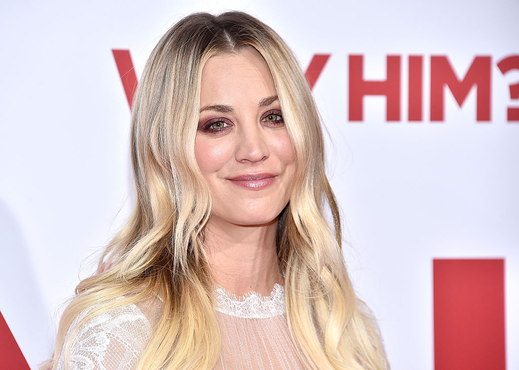 "Kaley Cuoco now has ""sherbet hair,"" and we bet she's started a trend"