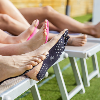 Would you ditch your sandals for these barefoot adhesive pads?