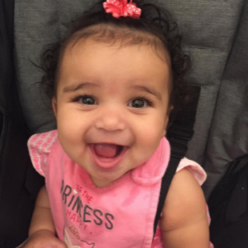 Dream Kardashian can now sit up on her own, and there's an adorable photo that proves it