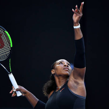 Watch this video of Serena Williams playing tennis while pregnant if you need some #girlboss inspiration