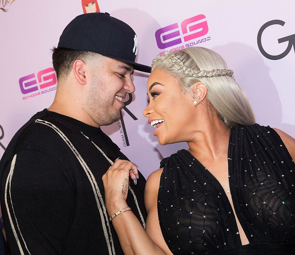 Rob Kardashian and Dream spent their first Father's Day in Disneyland, and the pictures are too cute
